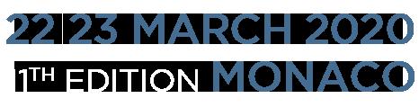 24 - 25 mars 2019 - 10ème édition Monaco